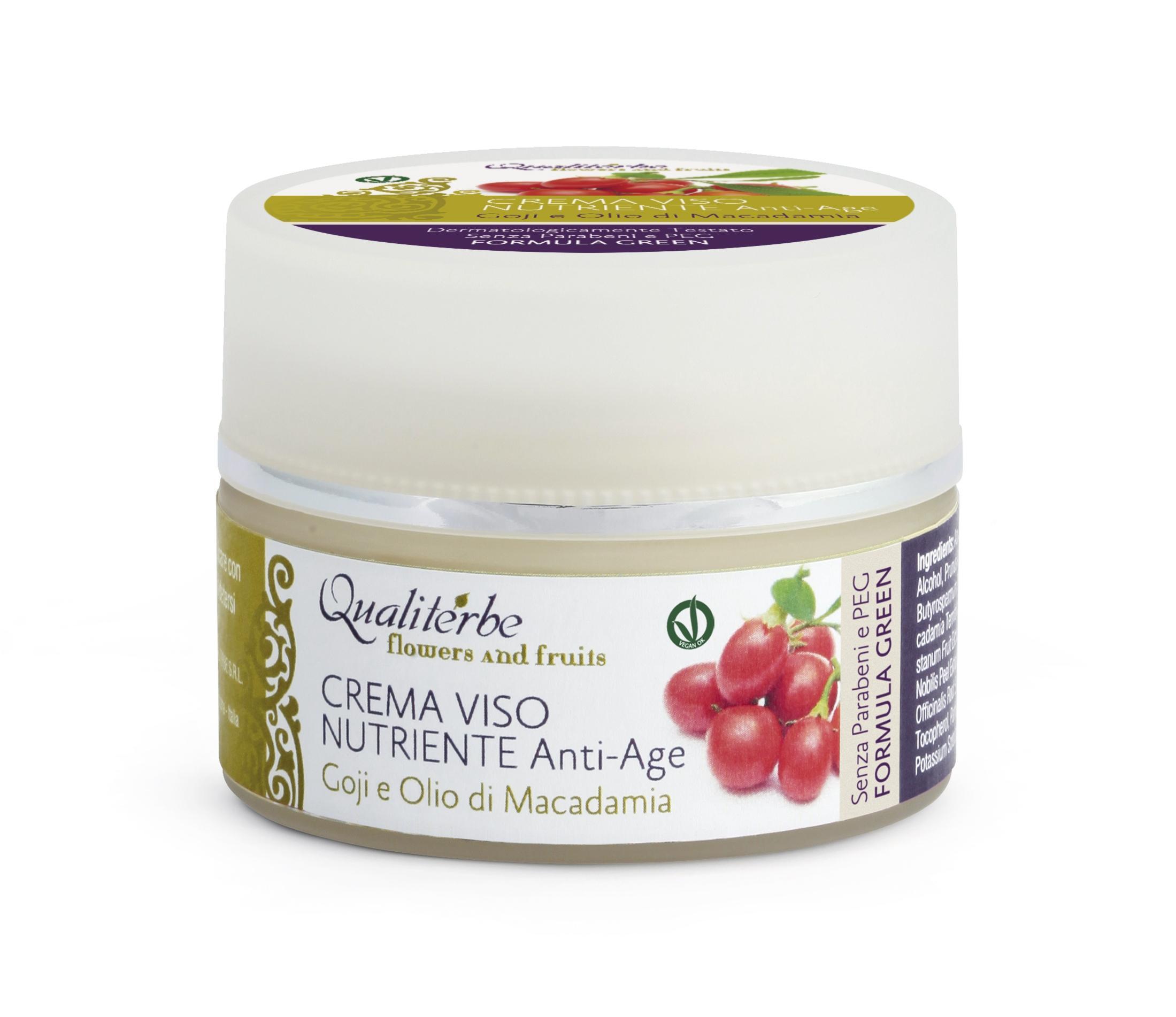 Crema Viso nutriente Flowers and fruits 50 ml - (Vegan ok)
