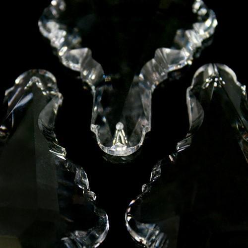 Pendente placca 89 mm cristallo Asfour Pb 30% -Asfour 902-