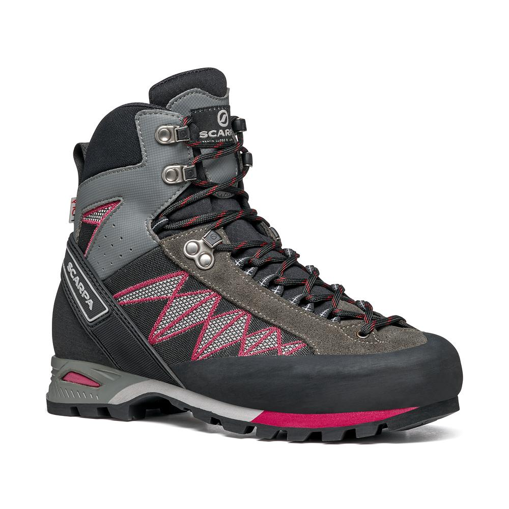 MARMOLADA TREK HD WOMAN   -   Backpacking media difficoltà    -   Shark-Cherry / Forma Larga