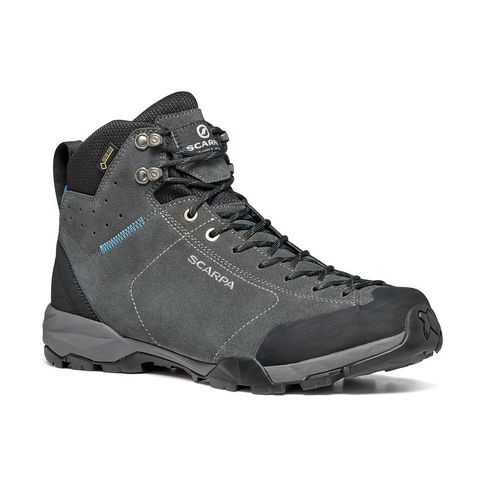 MOJITO HIKE GTX   -   Fast hikes on mixed terrains, waterproof   -   Shark-Lake Blue / Last Wide