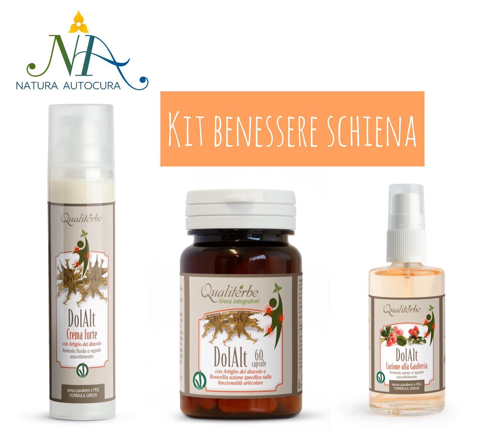 Kit Benessere Schiena Per Gruppo Naturautocura
