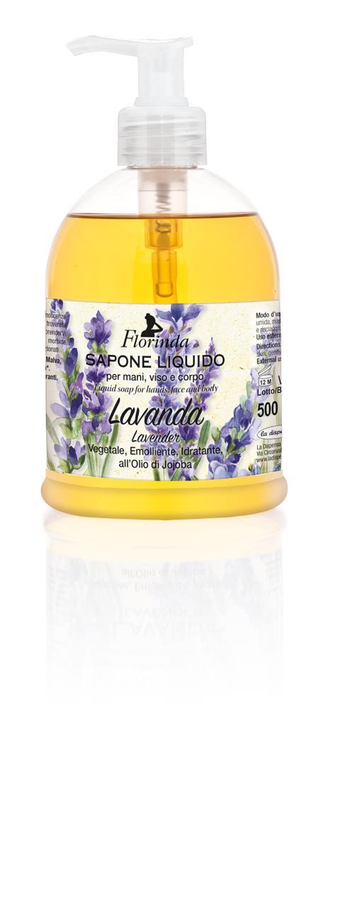 Sapone Liquido Lavanda 500 ml