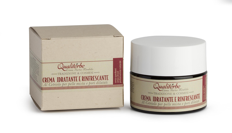 Crema idratante e rinfrescante al succo di Cetriolo 86%-SENZA PARABENI