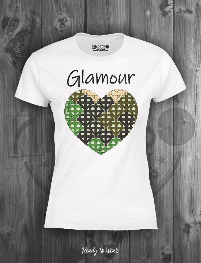 T-shirt in puro cotone manica corta slim Narciso.