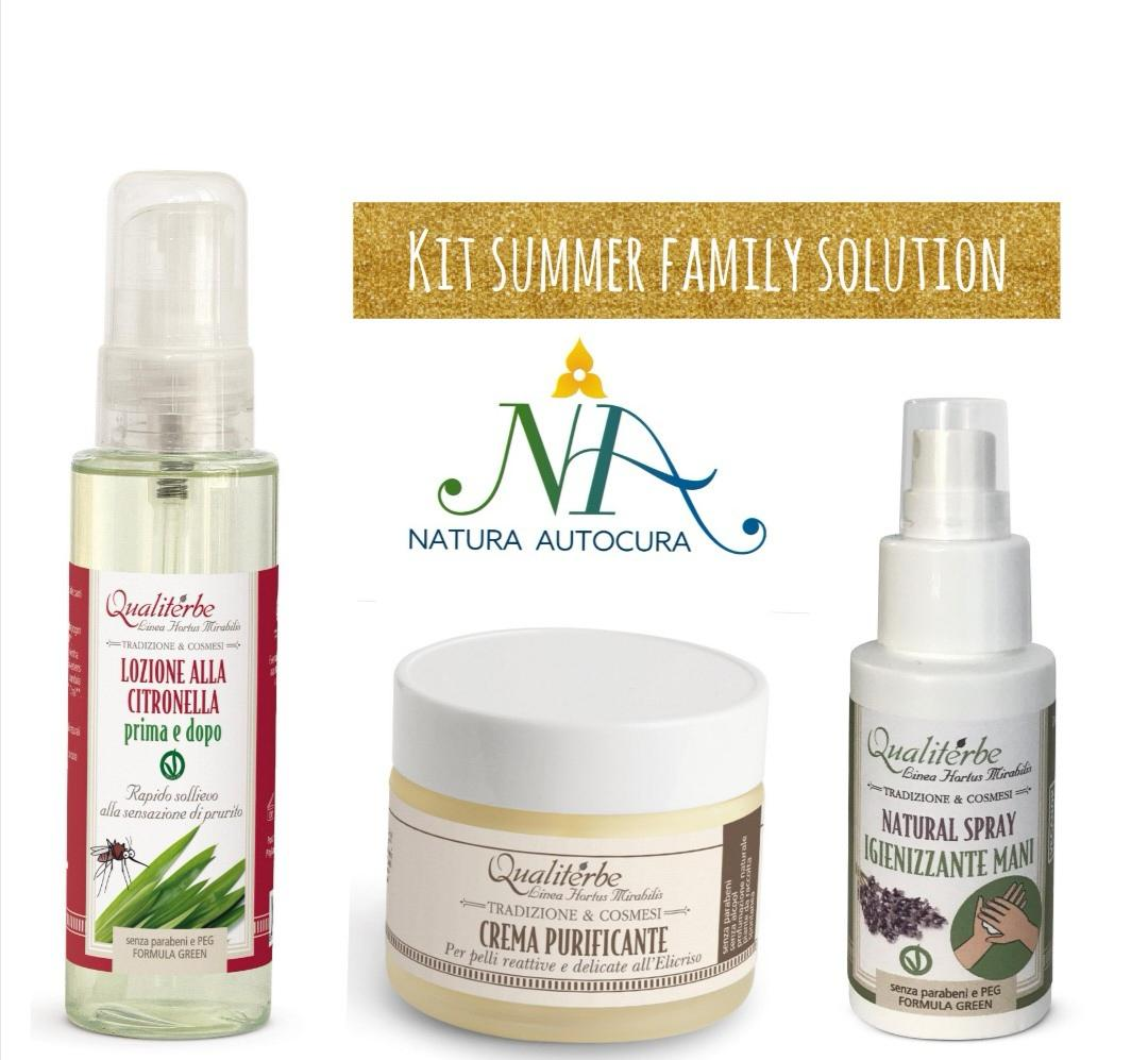 Kit Summer Family Solution Per Gruppo Naturautocura