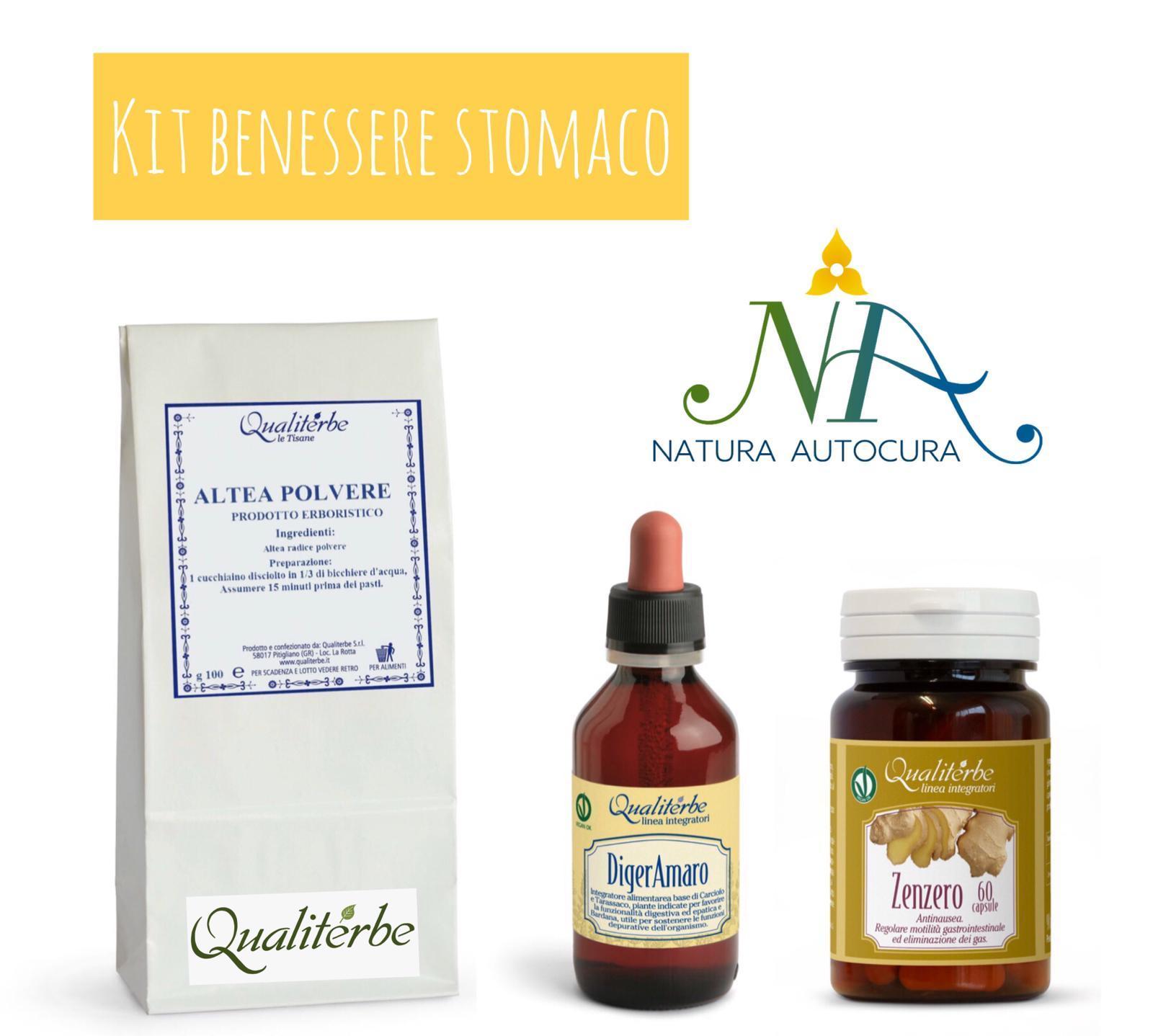 Kit Benessere Stomaco Per Gruppo Naturautocura