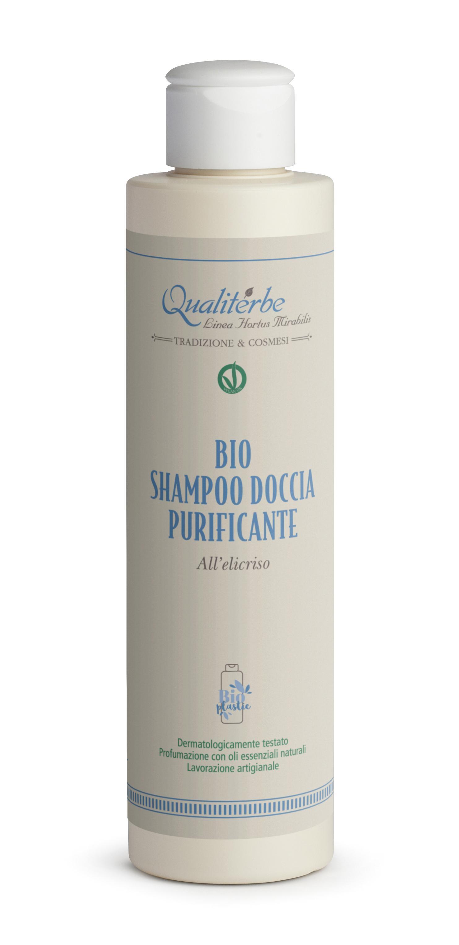 Bio Shampoo Doccia purificante all'Elicriso 200 ml