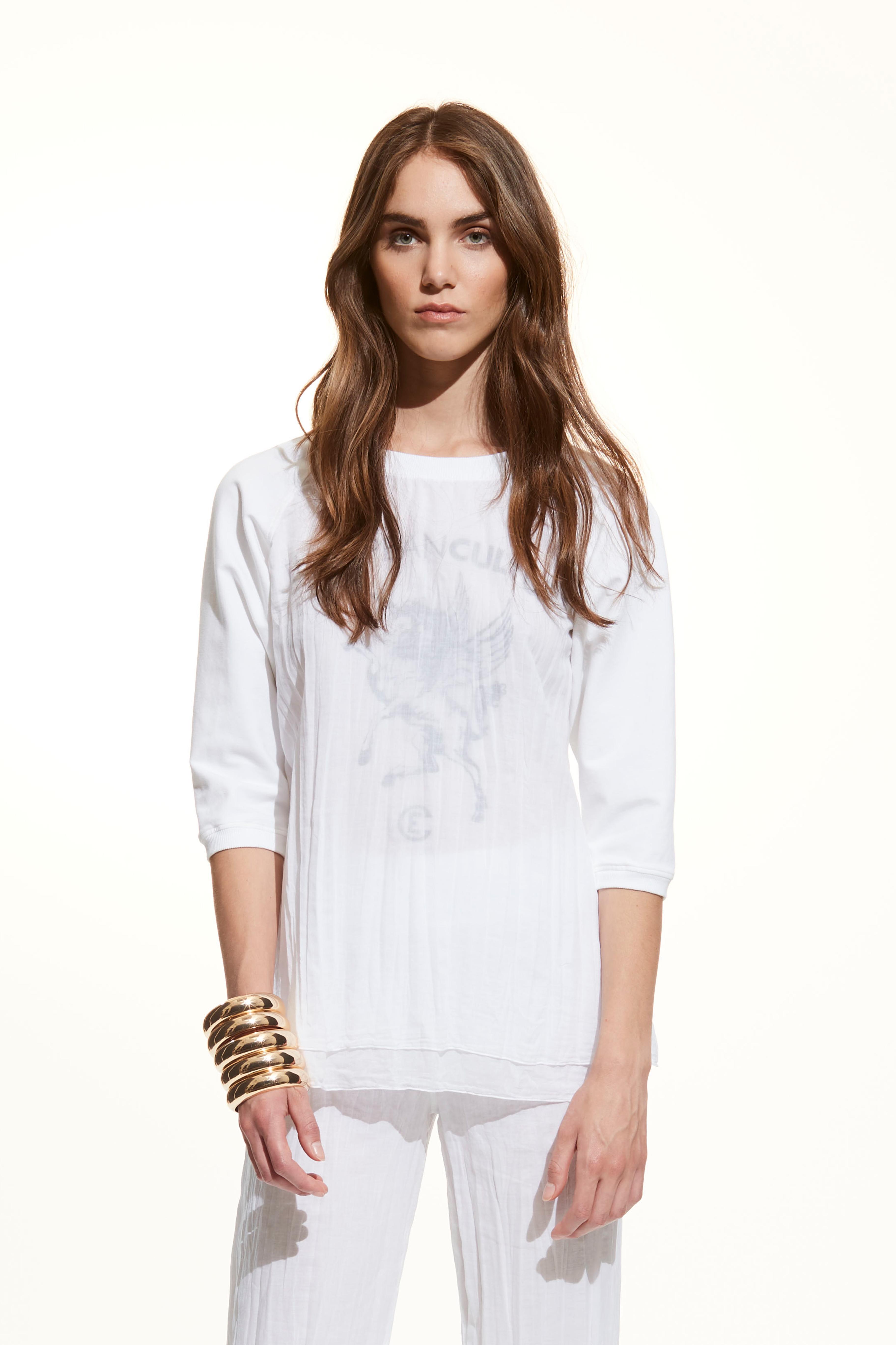 T-shirt mussola di cotone European Culture.