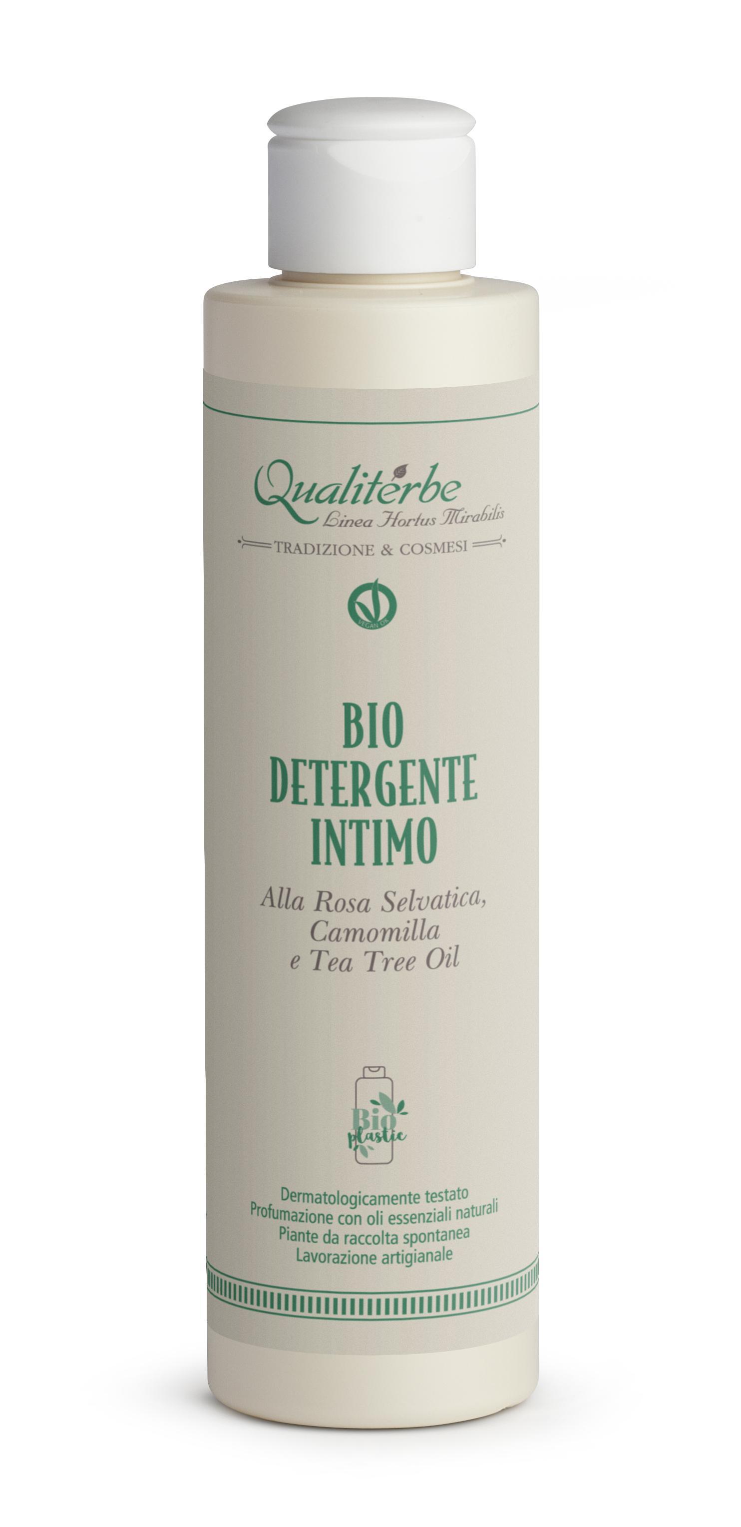 Detergente intimo alla Malva 2% Rosa selvatica 1,8% Elicriso 2,5%