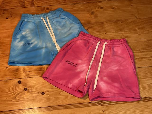 Pantaloncini TieDye in Felpa  Vicolo