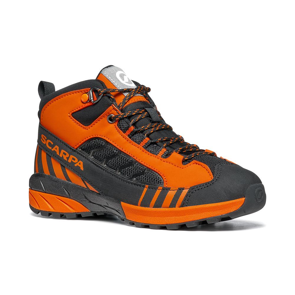 MESCALITO MID KID GTX  -   Technical approach, exucsions on wet terrain   -   Black-Orange