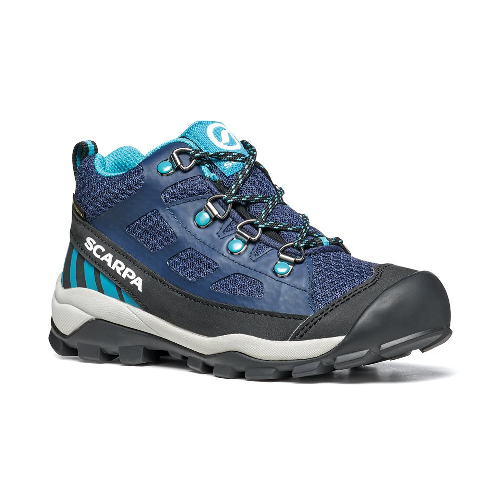 NEUTRON MID KID GTX   -   Trail Running and walks   -   Blue-Turquoise