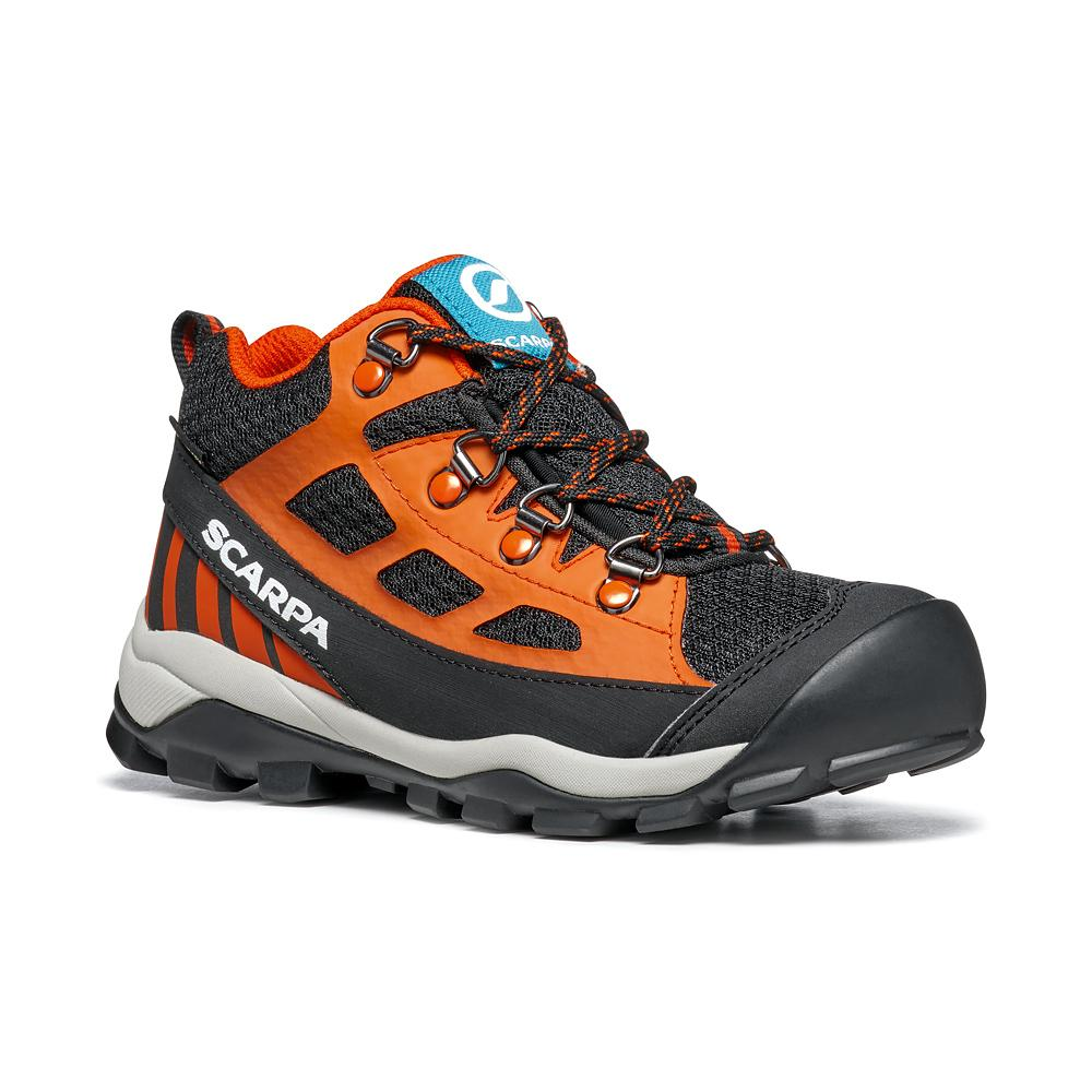 NEUTRON MID KID GTX   -   Trail Running and walks   -   Black-Orange