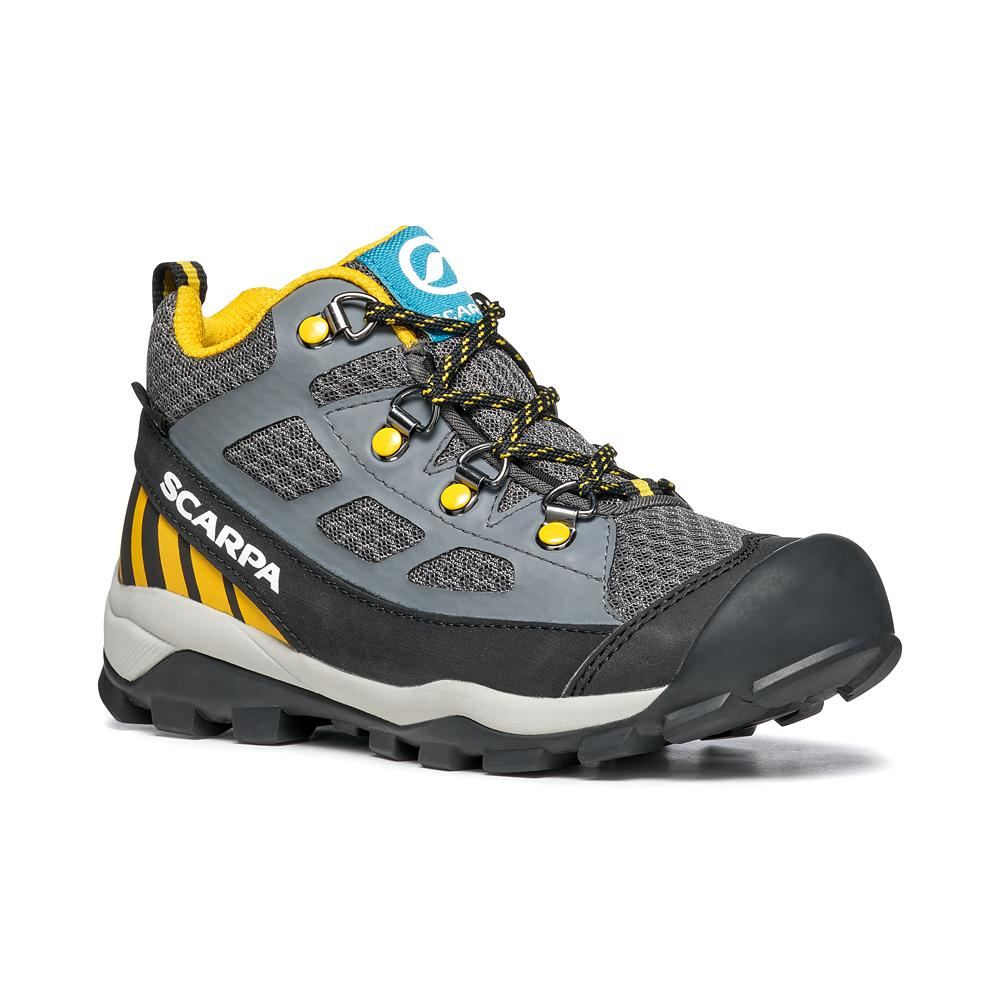 NEUTRON MID KID GTX   -   Trail Running e passeggiate   -   Dark Gray-Yellow