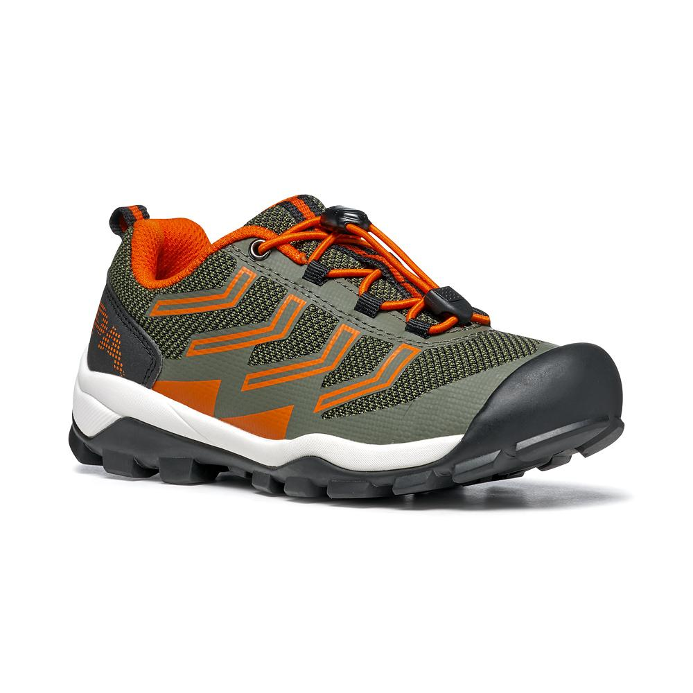 NEUTRON LACE KID   -   Trail Running e passeggiate   -   Military-Orange