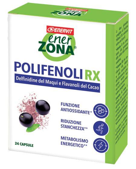 ENERZONA POLIFENOLI  RX 24 CAPSULE A BASE DI ESTRATTO VEGETALE DI MAQUI