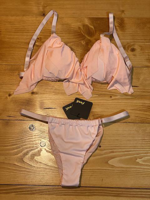 Bikini triangolo e slip brasiliano laccetto regolabile Sanctuary Taglia  M