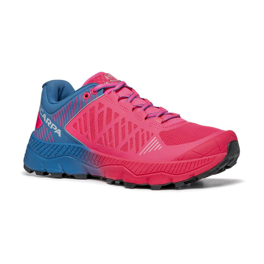 SPIN ULTRA WOMAN   -   Trail Running per lunghe distanze   -   Rose Fluo-Blue Steel