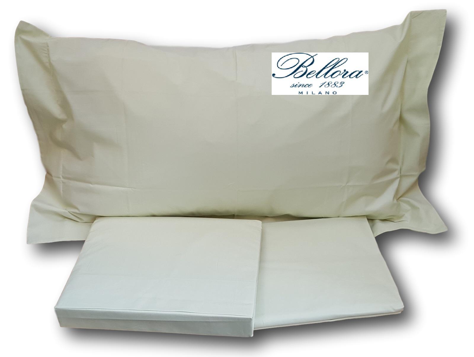 BELLORA. Completo letto, Lenzuola MILAN in Cotone 100%. Matrimoniale, 2 piazze.