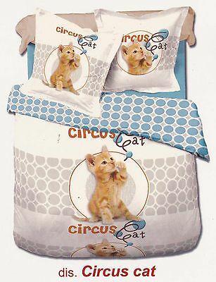 Trapunta, Piumone Double-face. Singolo e Matrimoniale. MY COLORS - CIRCUS CAT.