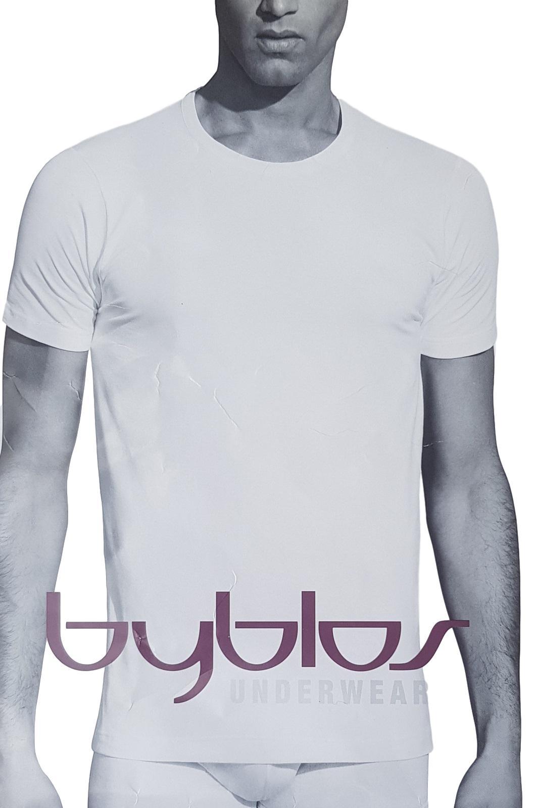 T-Shirt uomo, maglietta intima manica corta girocollo in Cotone BYBLOS 680702