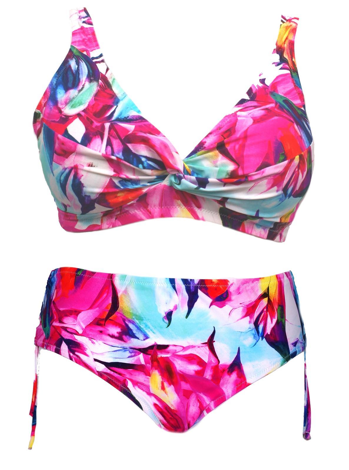 Costume bagno Bikini coppe preformate, 2 pezzi mare Donna TRIUMPH Sunset Leaf TP