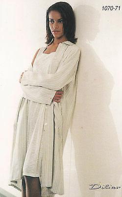 Camicia da notte lunghezza ginocchio, Canotte, spalla larga. DILIAR, 1070. Cielo