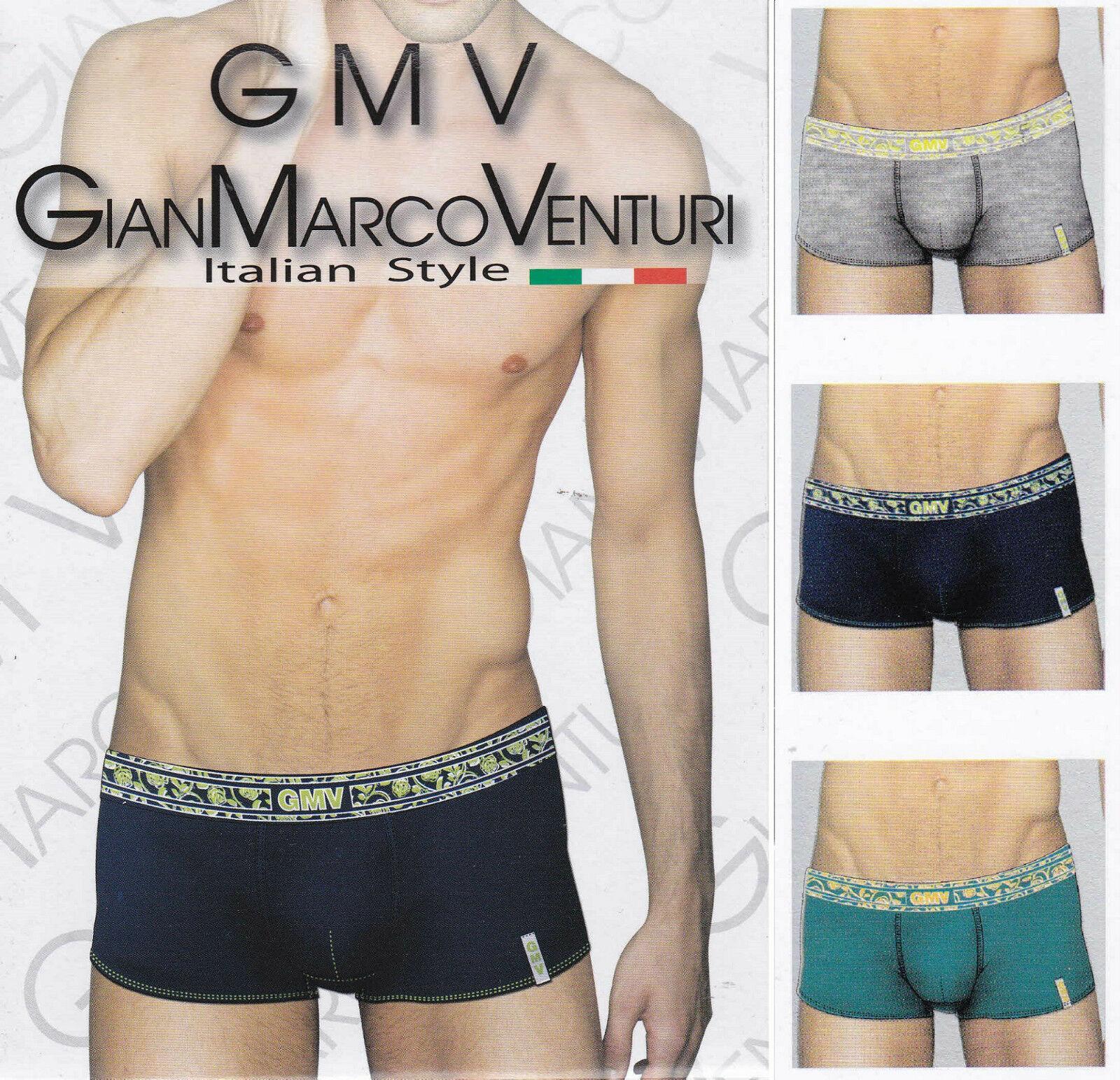 6 Pezzi Boxer uomo, Art. 92. GIANMARCO VENTURI - 4Friends. Cotone elasticizzato.
