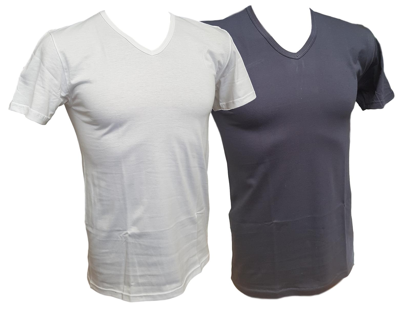 T-Shirt uomo 3 pezzi maglietta intima corta scollo V Cotone HENRY COTTON'S HC/P5