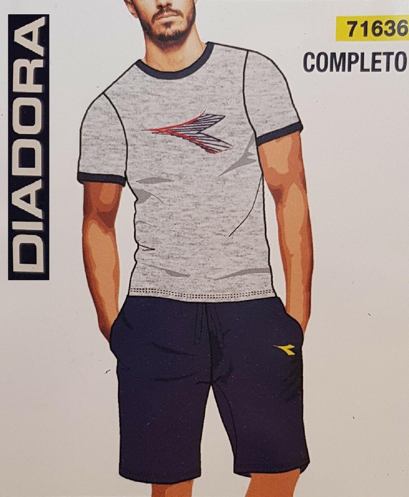 DIADORA Beachwear. Completo mare Uomo in 100% Cotone. 71636.