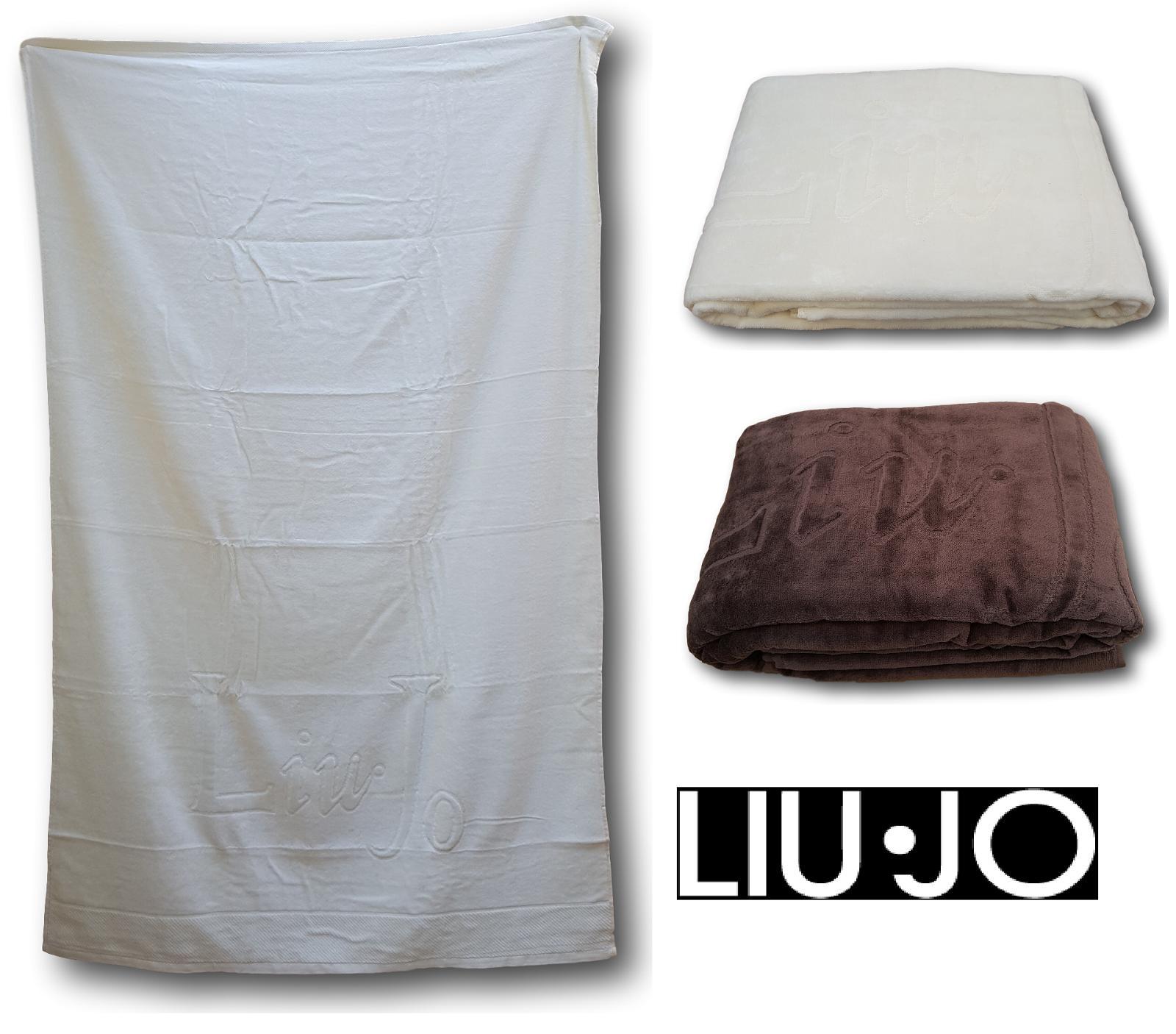 LIU JO HOME Telo Bagno, asciugamano doccia Spugna cimata 100% Cotone CIMA LB293B