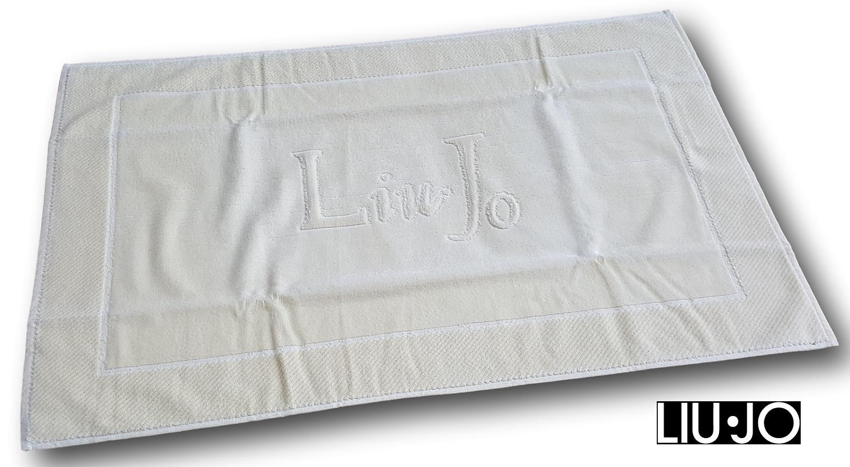 LIU JO HOME. Tappeto, Tappetino bagno 60 x 90 cm. in spugna cimata. Scendibagno.