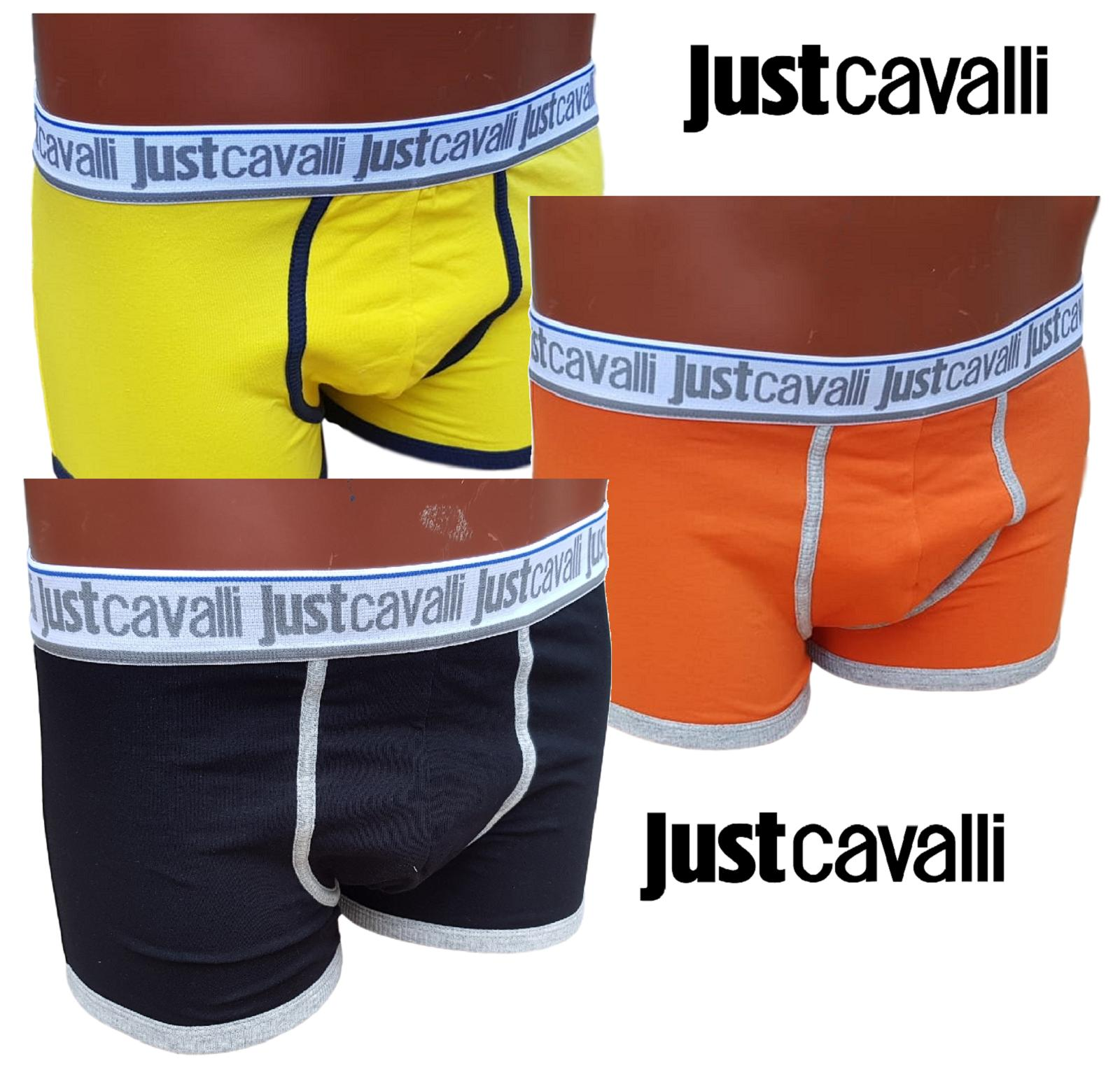 JUST CAVALLI A11. Boxer uomo elastico esterno. 95% Cotone - 5% Elastam