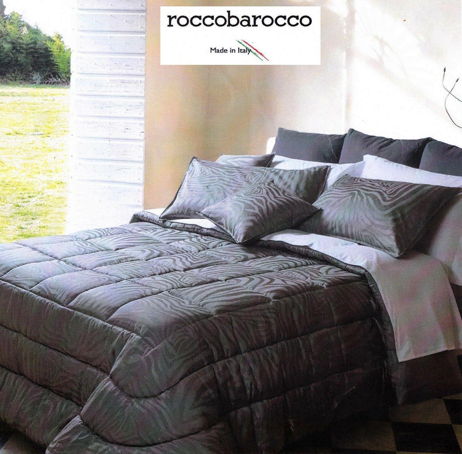 ROCCOBAROCCO, KARIBU'. Copriletto Trapuntato, Jacquard. Matrimoniale, 2 piazze.