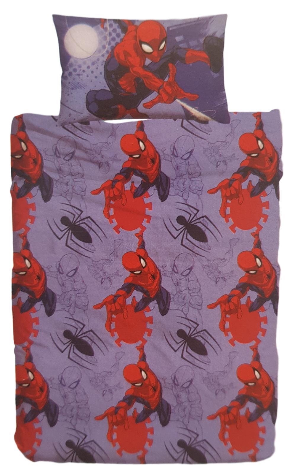 Intimo E Arredo Casa Disney Spiderman Copripiumino Singolo 100 Cotone Parure 2 Pezzi Sacco Federa 323965328431 Acquista Ora