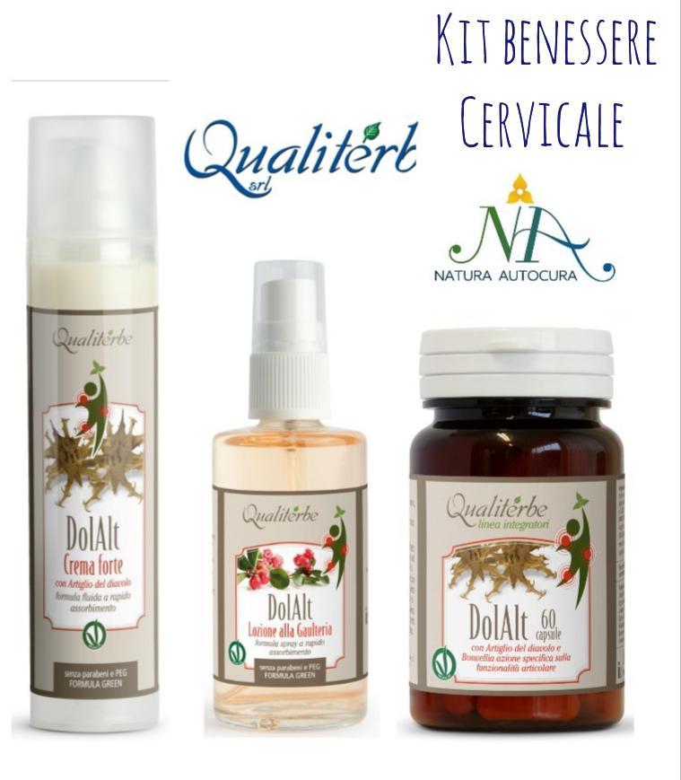 Kit Benessere Cervicale -20% con codice: naturautocura