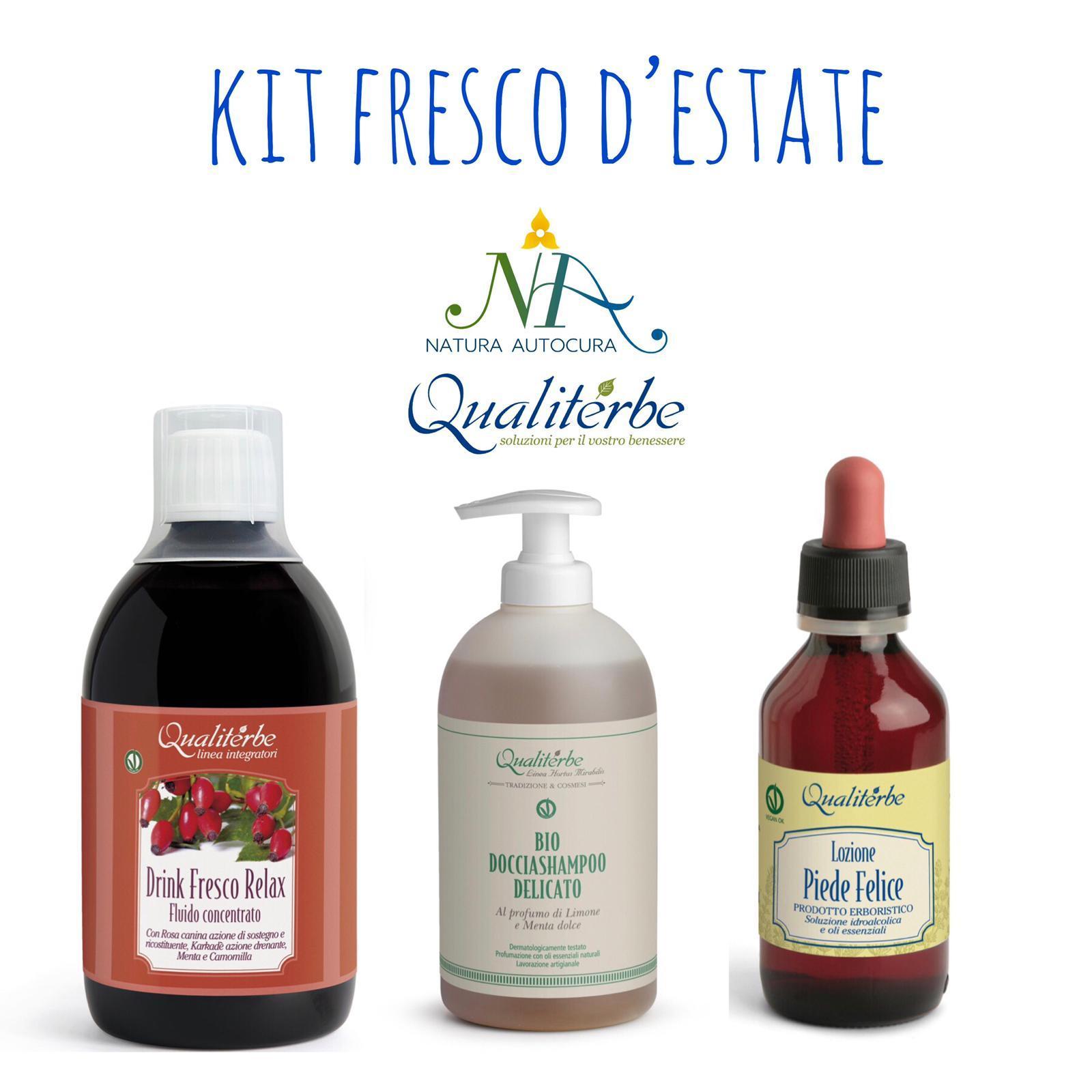 Kit Fresco D'Estate -20% con codice: naturautocura