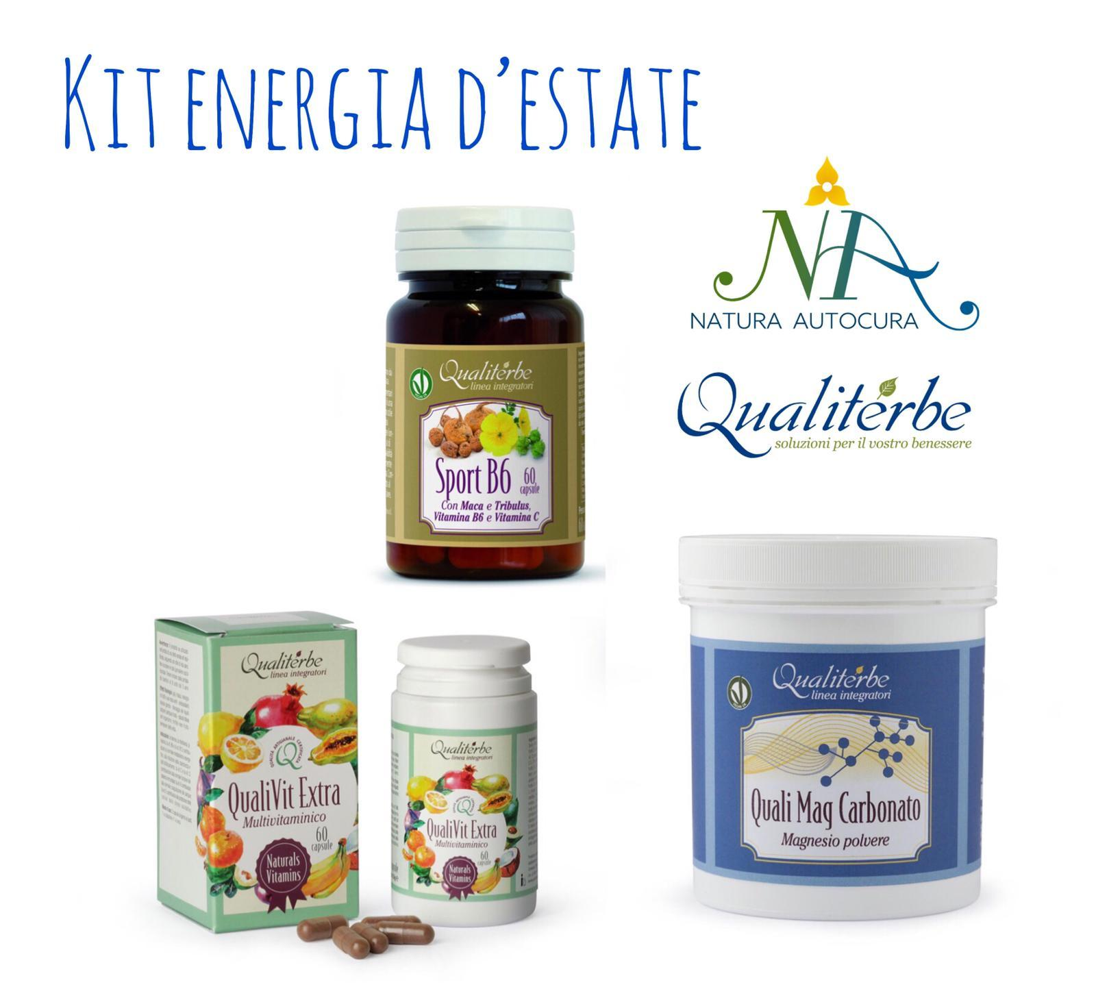 Kit Energia Estate -20% con codice: naturautocura