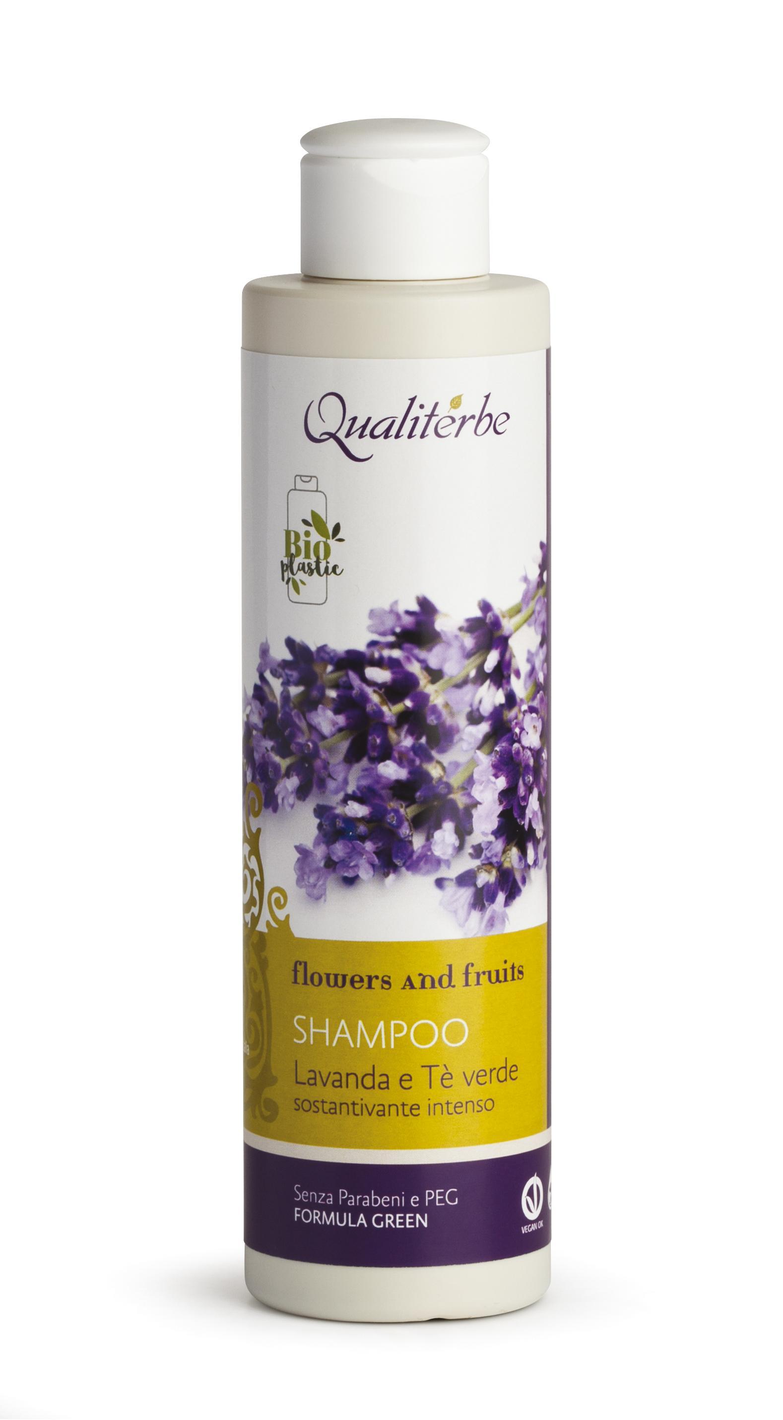 Shampoo sostantivante intenso 200 ml alla Lavanda e The Verde