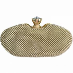 Golden jewellery bag | Ceremonial clutch bag