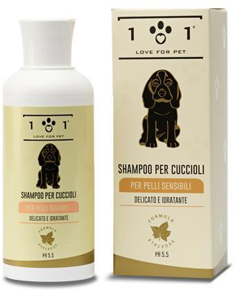 Shampoo per cuccioli e pelli delicate