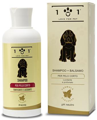 Shampoo + balsamo pelo corto