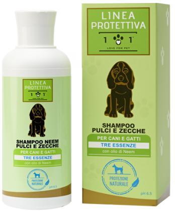 Shampoo pulci e zecche all'olio di Neem