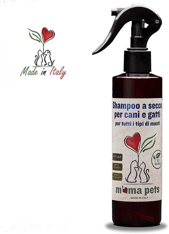 Shampoo secco per cani e gatti