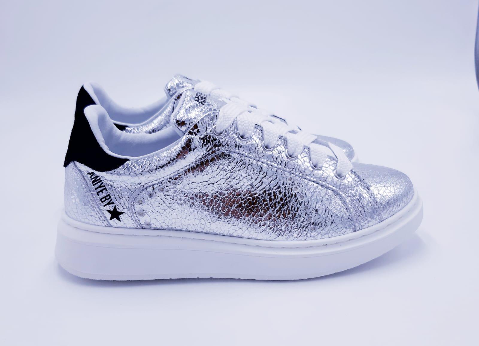 Sneakers Silver Aniye By.
