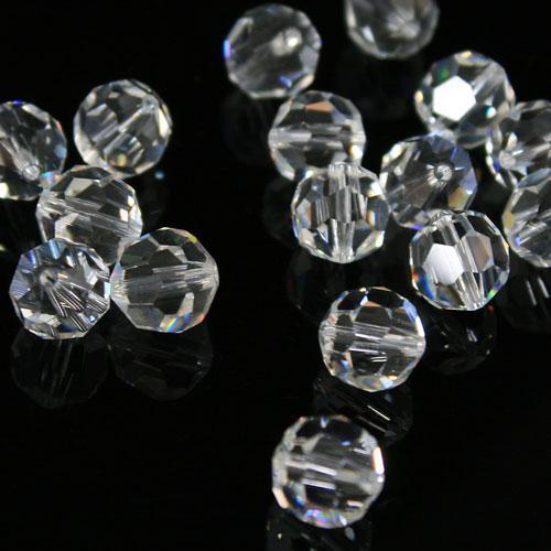 Swarovski - Perla sfaccettata Ø 10 mm cristallo colore puro - 8502 -