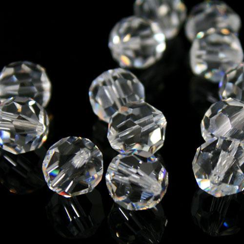 Swarovski - Perla sfaccettata Ø 12 mm cristallo colore puro - 8502 -