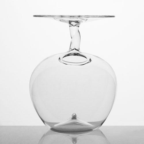 Vaso in vetro trasparente cristallo 14 cm per decorazioni floreali. Vaso monofiore, decorazione per tavolo