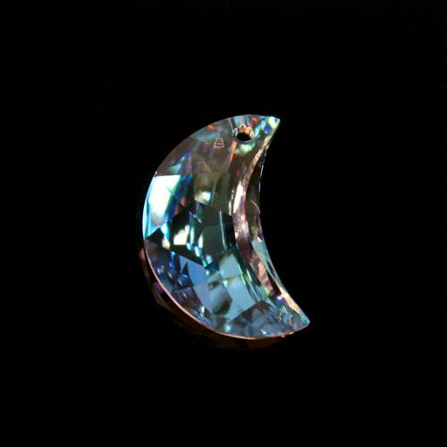 Pendaglio Swarovski luna Aurora Boreale 20 mm - 8816 -