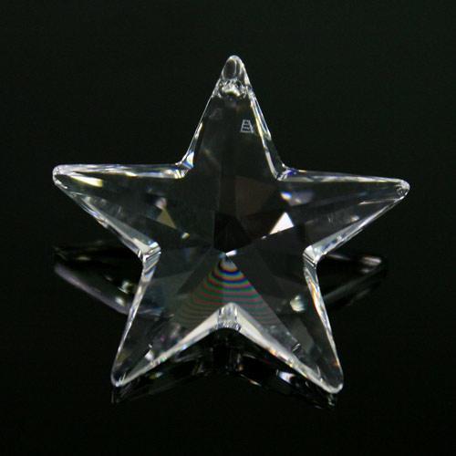Pendaglio Swarovski stella Cristallo Trasparente 28 mm - 6714 -